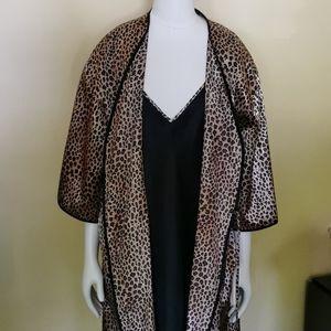 🆕 2 Piece Nightgown & Robe, Size 2XL